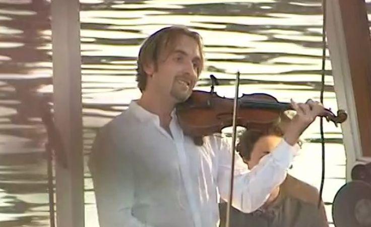 Wirtuoz skrzypiec otworzył