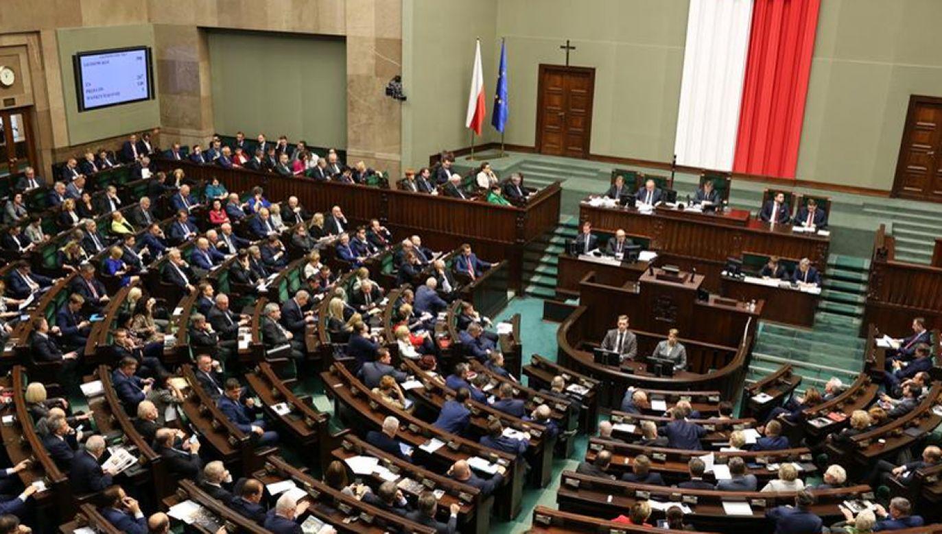 Posłowie zajmą się m.in. prezydenckimi projektami ustaw o KRS i SN (fot. Kancelaria Sejmu/Krzysztof Białoskórski)