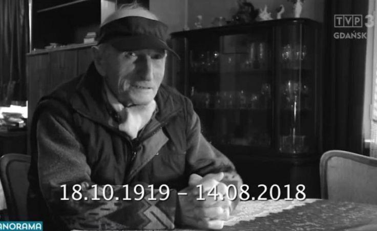 W wieku 99 lat zmarł Brunon Zwarra