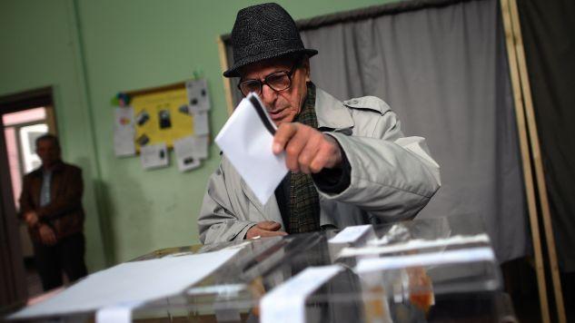 Jeśli sondaże potwierdzą się to będzie trzecie zwycięstwo GERB (fot. EPA/VASSIL DONEV)