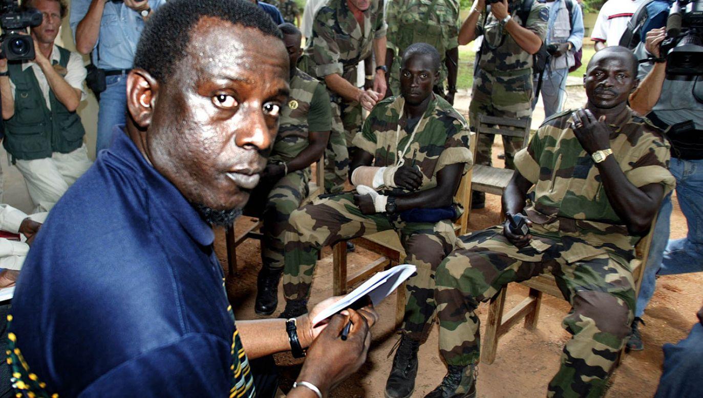 Zarzuty usłyszał m.in. Cheikh Gadio, były szef dyplomacji Senegalu (fot. REUTERS/Eric Gaillard)