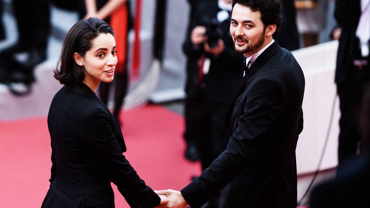 Egipski reżyser A.B. Shawky i jego żona Elisabeth Shawky-Arneitz (fot. PAP/EPA/CLEMENS BILAN)