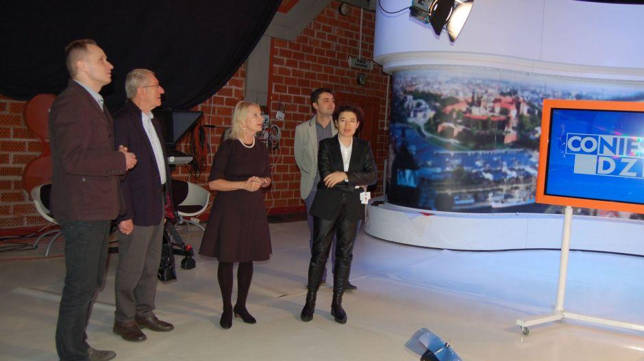Profesor Maria Siemionow w TVP3 Szczecin