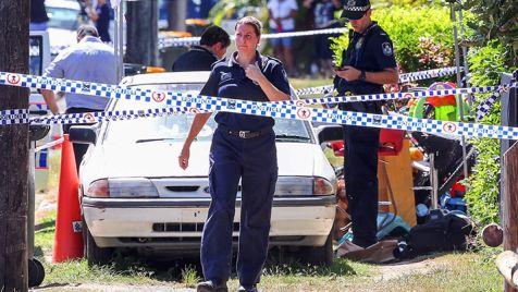 Policja otoczyła miejsce tragedii (fot. PAP/EPA/ROMY BULLERJAHN)