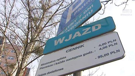 Horrendalna stawka dopłaty za parkowanie pod szpitalem Jurasza