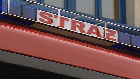 Do akcji skierowano trzy zastępy straży pożarnej (fot. arch. TVP3 Kraków)
