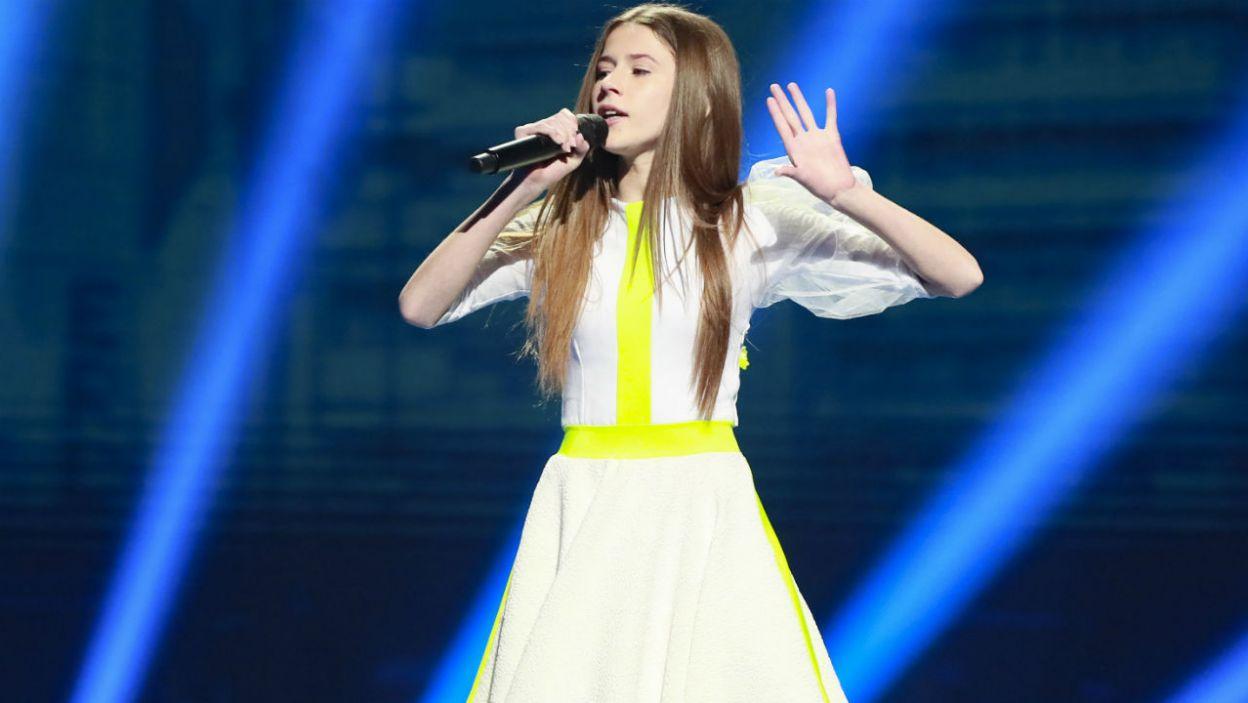 Roksana na próbie wyglądała na skupioną, ale zrelaksowaną (fot. Andres Putting/Eurovision)