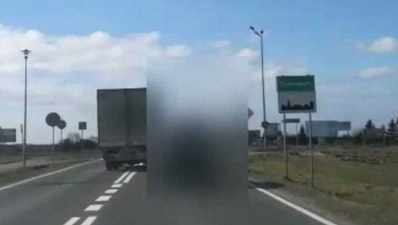 Kołobrzescy policjanci zatrzymali stwarzającego zagrożenie kierowcę (fot. KPP Kołobrzeg)