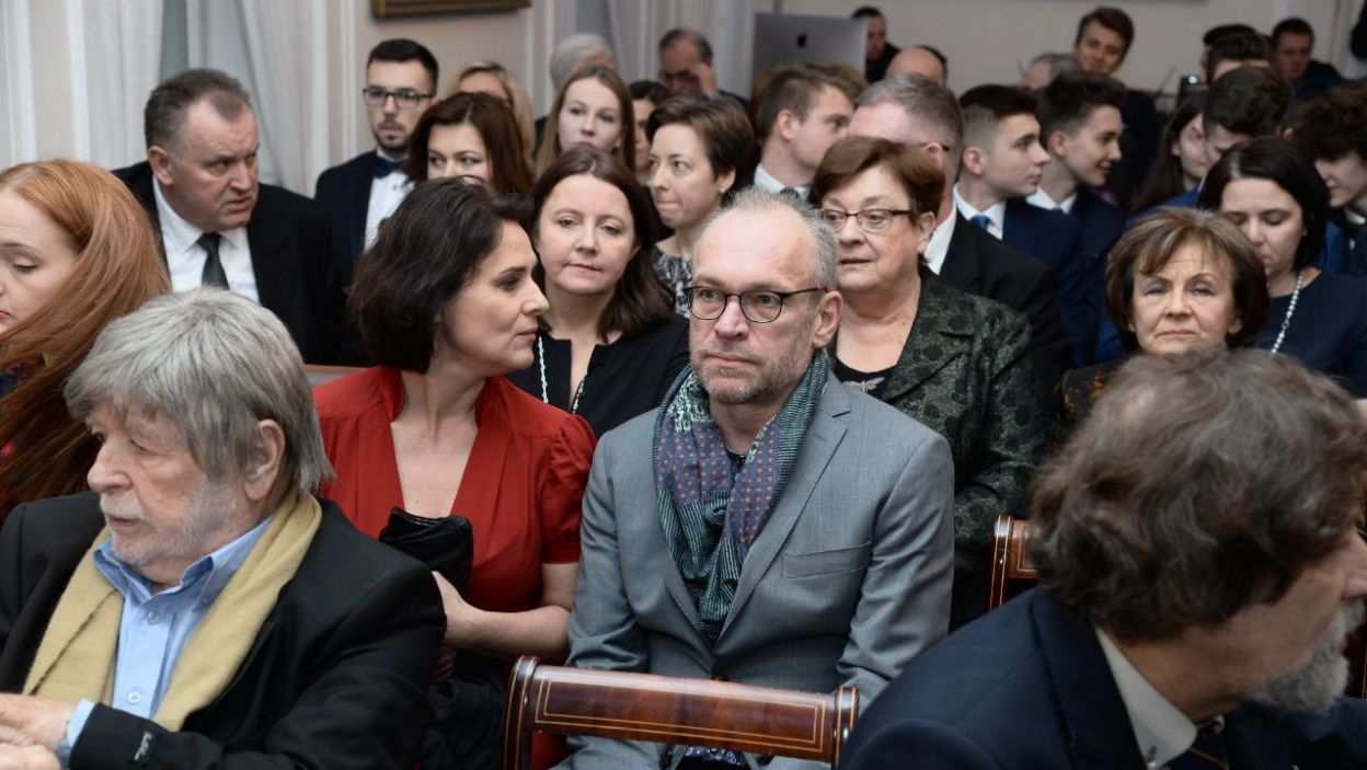 Józefa Piłsudskiego zagrał Mariusz Bonaszewski. W postać Marszałkowej wcieliła się Dorota Landowska (fot. Jan Bogacz/TVP)