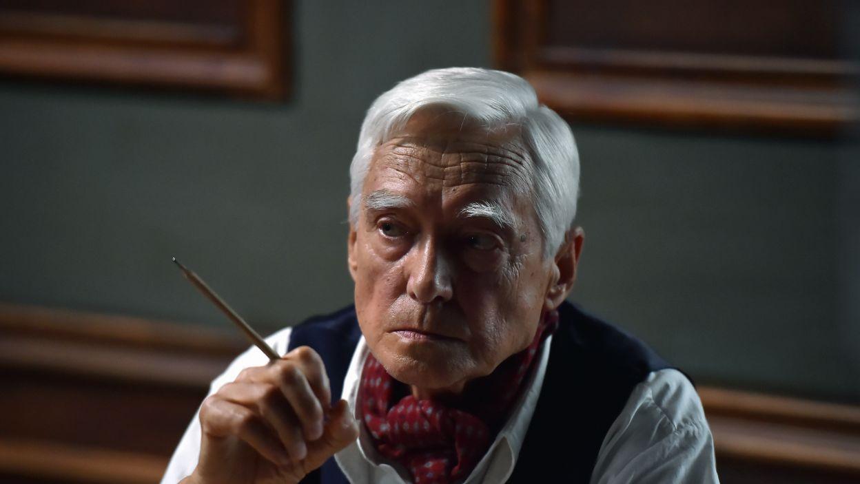 W spektaklu zobaczymy również Krzysztofa Kalczyńskiego (fot. I. Sobieszczuk\TVP)