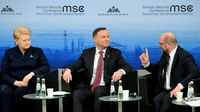 Duda: następnym krokiem powinno być stworzenie większej infrastruktury NATO w naszej części Europy