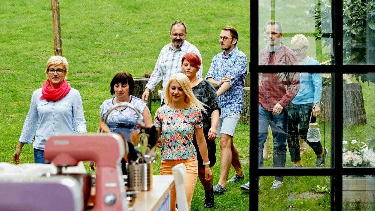 Uczestnicy jeszcze nie wiedzą, jakie czeka na nich zadanie (fot. TVP)