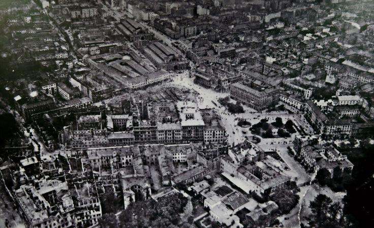 Zdjęcia lotnicze Warszawy 1939 R. /fot. PAP