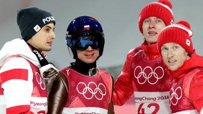 Pjongczang – konkurs drużynowy w skokach narciarskich