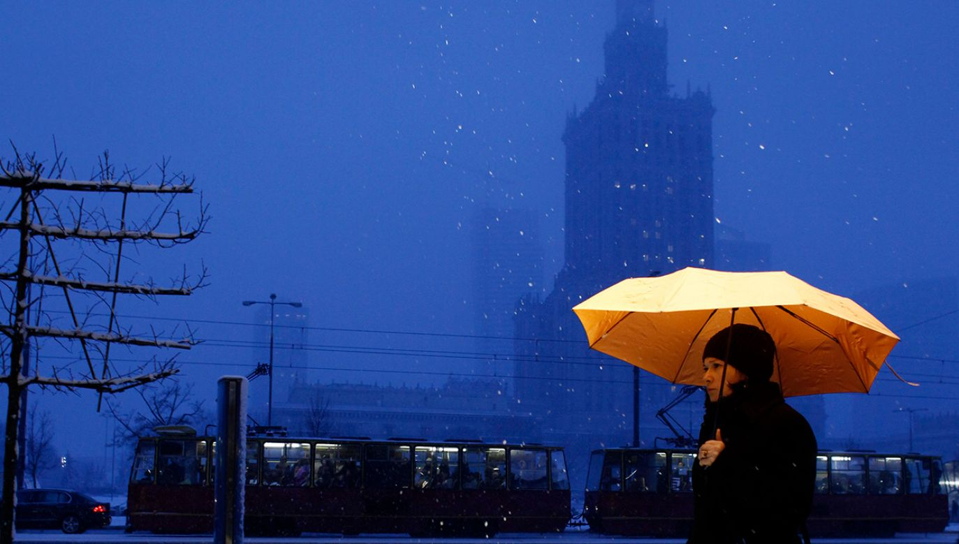 Ciężkie warunki atmosferyczne w Polsce (fot. REUTERS/Kacper Pempel)