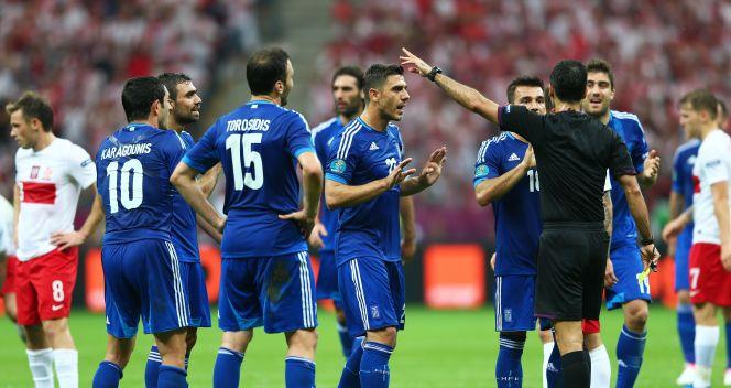 Grecy nic nie wskurali u arbitra głównego (fot. Getty Images)
