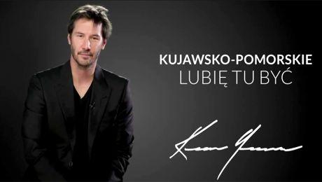 Keanu Reeves promuje Kujawy i Pomorze
