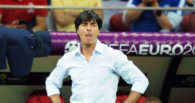 Trener Niemców Loachim Loew był bezradny (fot. Getty Images)