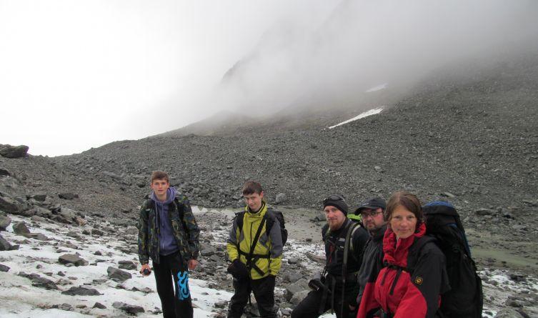 Podczas dwudniowej wyprawy w teren towarzyszyła nam niemal cały czas słynna spitsbergeńska mgła