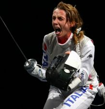 Valentina Vezzali (fot. Getty Images)