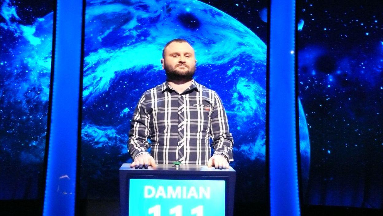 Zwycięzcą 3 odcinka 108 edycji został Pan Damian Domaradzki