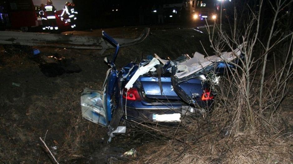 Kierująca tym autem zginęła na miejscu