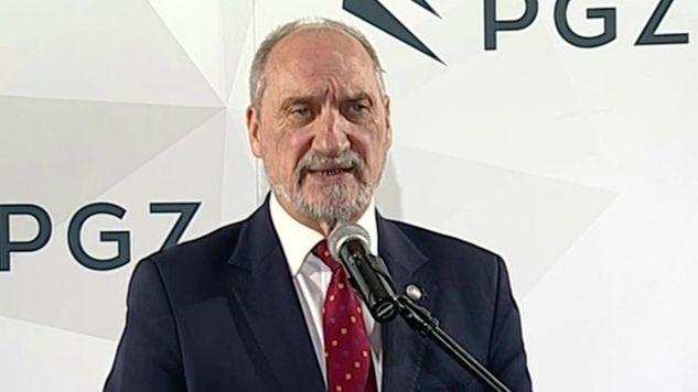 Szef MON mówił również o naszym charakterze narodowym (fot.tvp)