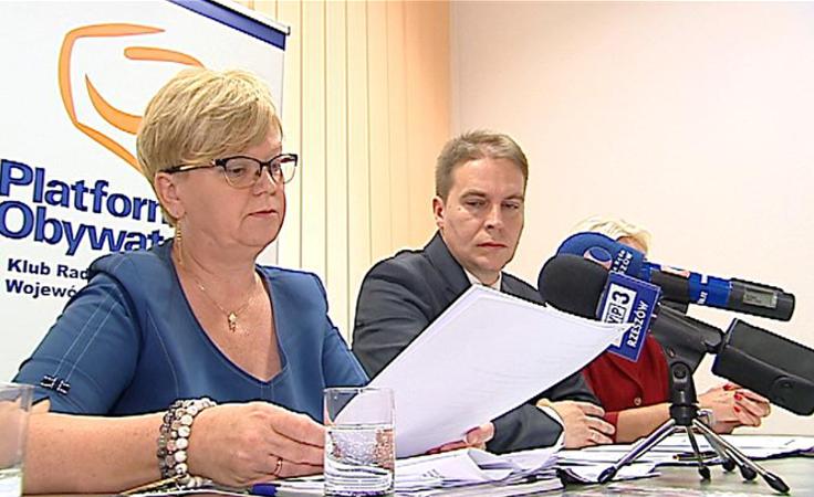 PO krytykuje zmiany w budżecie województwa