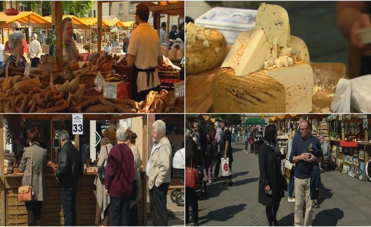 Stragany lokalnych wystawców stanęły na rynku po raz piąty