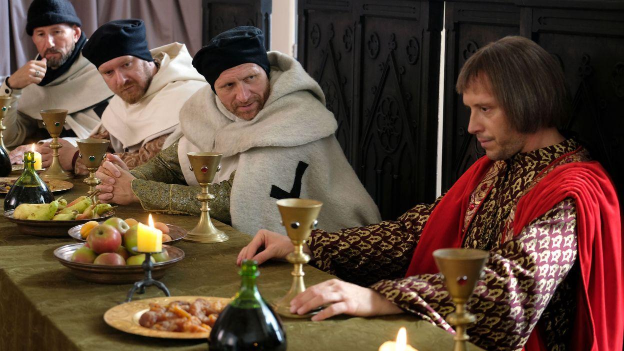 Bogoria nie może spotkać się z Ludolfem. Duchowny w końcu traci cierpliwość (fot. TVP)