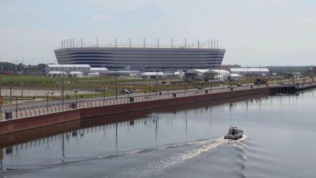 W piątek po południu w Kaliningradzie rozegrany zostanie mecz Serbia-Szwajcaria (fot. Associated Press)
