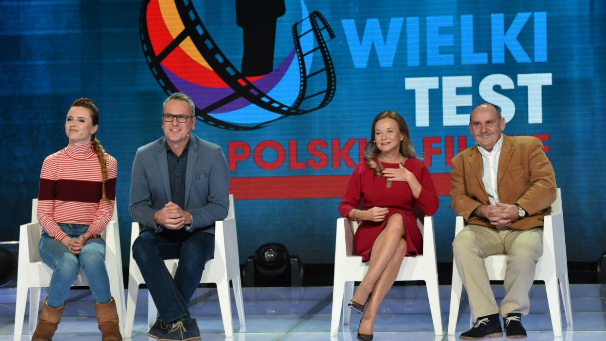 W rundzie finałowej zmierzyły się dwie pary: Katarzyna Burzyńska i Jacek Kurowski oraz Laura Łącz i Sławomir Orzechowski (fot. I. Sobieszczuk/TVP)