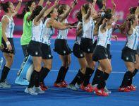 Radość Argentynek po zwycięstwie (fot. PAP/EPA)