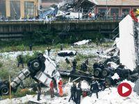 """Zawalił się wiadukt na autostradzie w Genui. """"Dziesiątki zabitych"""""""