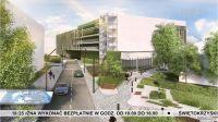 Nowy parking wielopoziomowy - wizualizacja