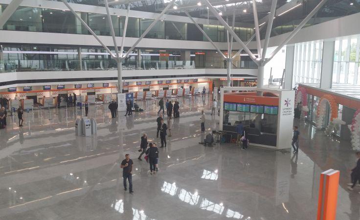 Nowy terminal na Lotnisku Chopina otwarty /fot. Tiger Media