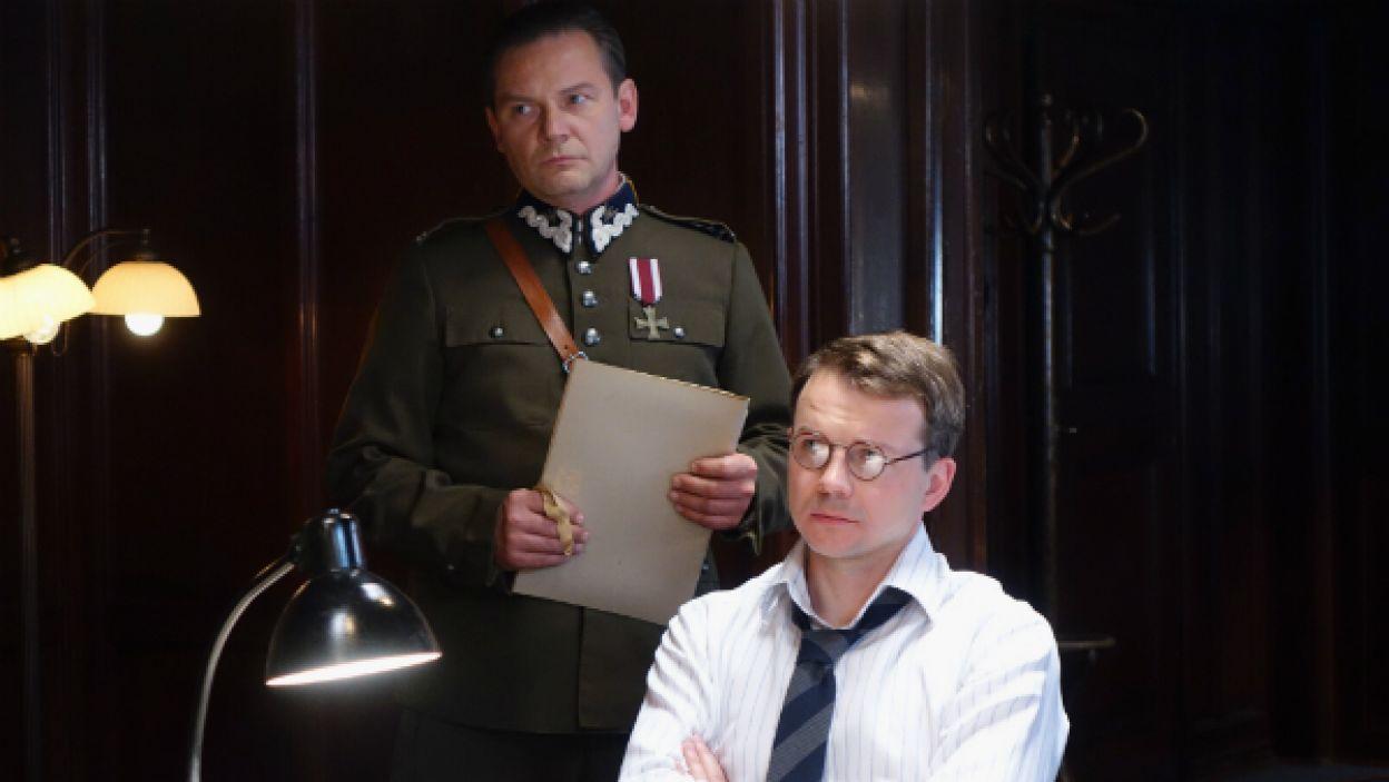 Ireneusz Czop i Lesław Żurek odkrywają sekrety Enigmy (fot. I Sobieszczuk)