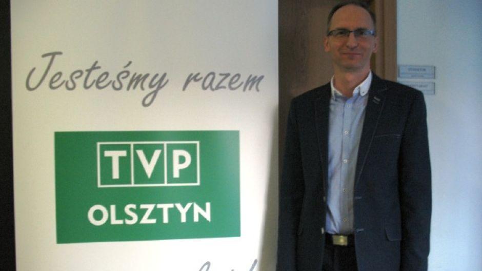 Krzysztof Otoliński, dyrektor Biura Promocji Urzędu Miasta Olsztyna.