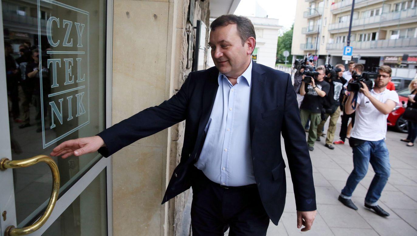 Stanisław  Gawłowski, poseł i sekretarz generalny PO (fot. PAP/Tomasz Gzell )