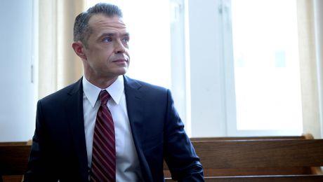 Sławomir Nowak podczas pierwszej rozprawy w kwietniu 2014 r. (fot. PAP/Jacek Turczyk)