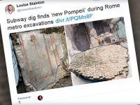 Niezwykłe wykopalisko w Rzymie. Przy rozbudowie metra odkopano luksusowy dom z III wieku