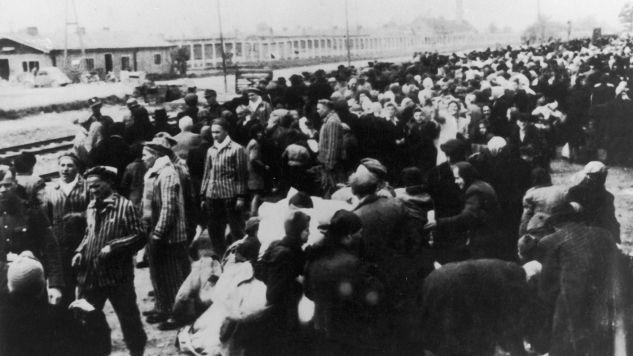 Auschwitz-Birkenau (fot. Hulton Archive/Getty Images)