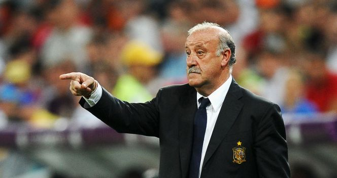 Opiekun La Roja Vicente del Bosque (fot. Getty Images)