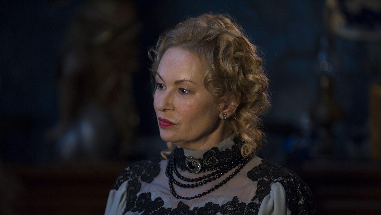W pozostałe role m.in rodziców Żabusi wcielili się – Katarzyna Gniewkowska... (fot. N. Młudzik/TVP)