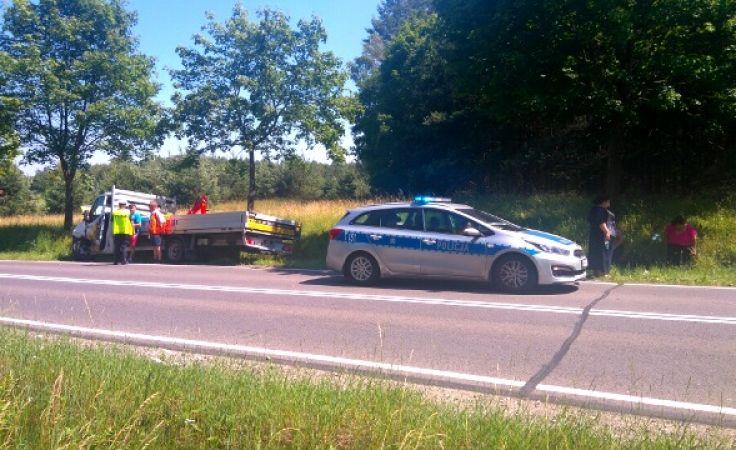 W miejscowości Rapaty zderzyło się sześć samochodów