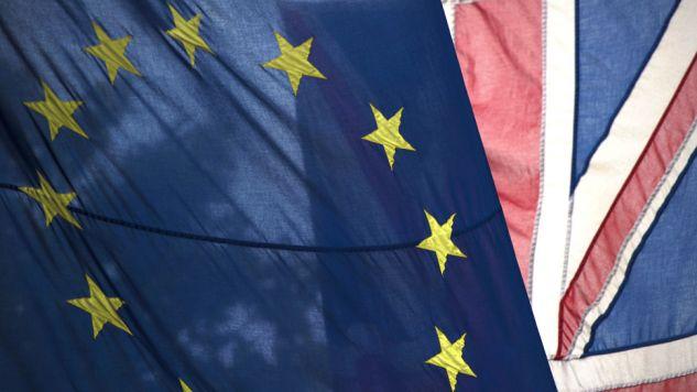 Brytyjczycy opowiedzieli się za opuszczeniem UE (fot. PAP/EPA/HANNAH MCKAY)