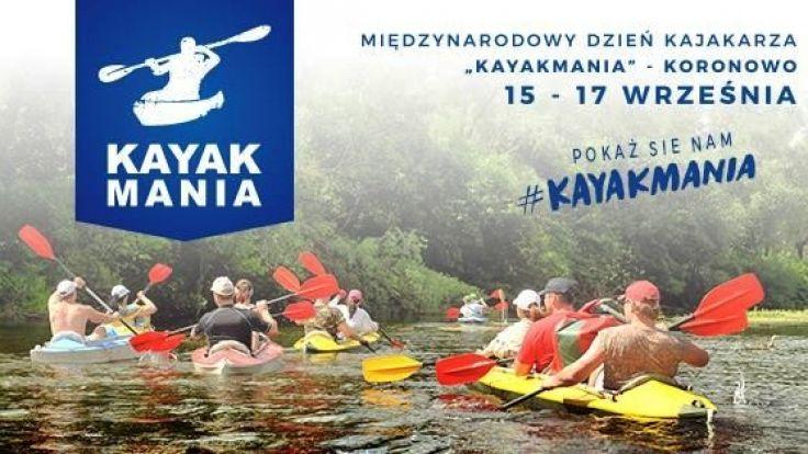 """Międzynarodowy Dzień Kajakarza """"Kayakmania - Koronowo 2017"""""""