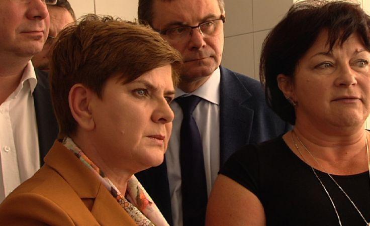 Beata Szydło, fot. TVP Katowice