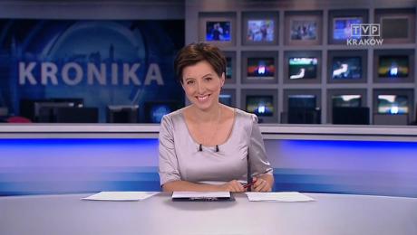 Olimpia Górska, prezenterka programu informacyjnego TVP Kraków