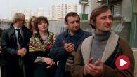 Niezapomniany Roman Wilhelmi w roli spragnionego władzy gospodarza domu  (kadr z filmu)